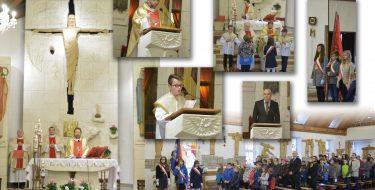 Uroczystość Jubileuszu 10 -lecia nadania Szkole Podstawowej wMogielnicy imienia Jana Pawła II