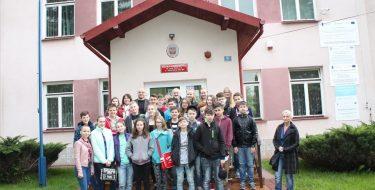 Partnerska współpraca szkół – Słowacy wMogielnicy
