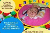 Nakręć się napomoc! – zbieramy nakrętki dla Weroniki