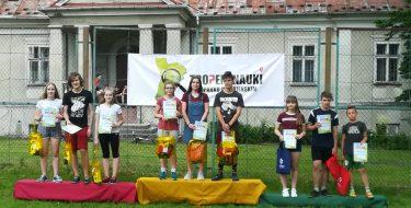 Srebrny medal naszej Drużyny wgrze terenowej wZgłobniu
