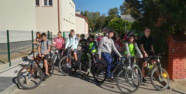 Rajd rowerowy poMogielnicy