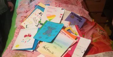 Akcja Szkolnego Koła Caritas dla Weroniki Świder