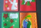 """Kartki świąteczne dla Weroniki Świder wramach akcji MEN """"Razem naświęta"""""""