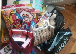 Kolejna zbiórka darów dla oddziału onkohematologii szpitala dziecięcego wRzeszowie