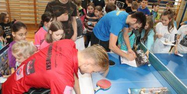 Spotkanie zTomaszem Lewandowskim – wielokrotnym medalistą mistrzostw Polski wtenisie stołowym