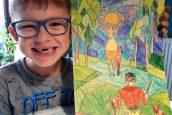 Sukces naszego ucznia wWojewódzkim Konkursie Twórczości Plastycznej