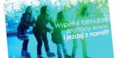 """""""Łyżwomania"""" nalodowisku przy Szkole Podstawowej wBoguchwale"""