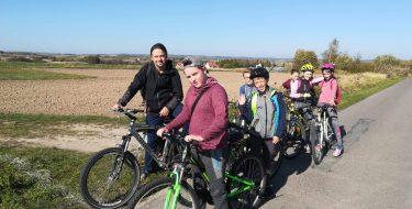 Drużyna Patriotyczno – Regionalna niezwalnia tempa – rajd rowerowy doNiechobrza