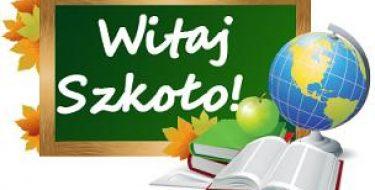 Informacja dotycząca inauguracji roku szkolnego 2016/2017