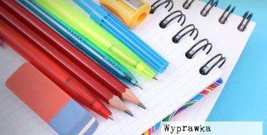 Wyprawka – informacja dla rodziców uczniów klas I-III